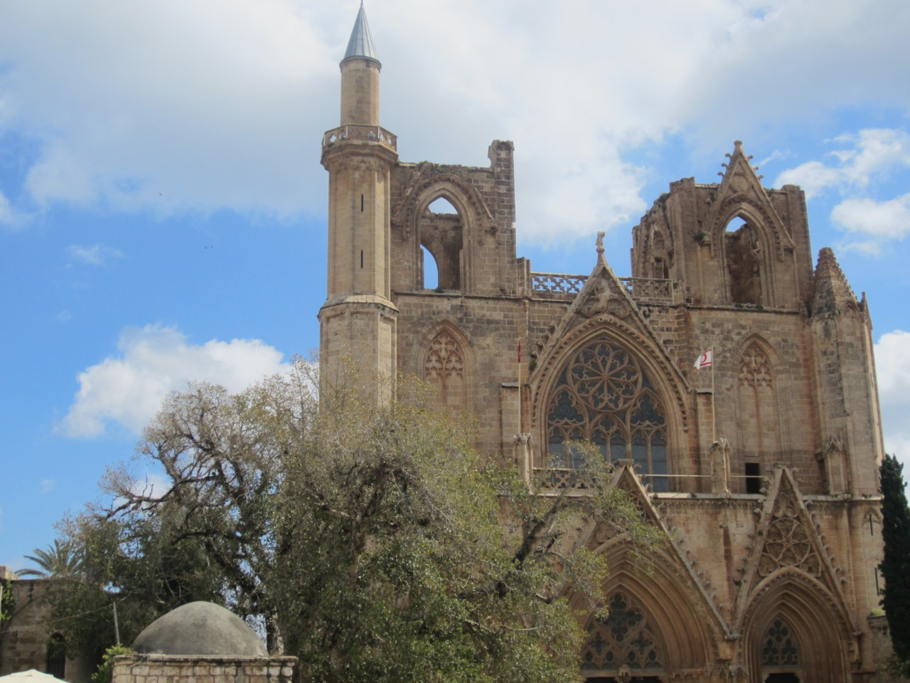 Famagusta's cathedral, turned into a mosque