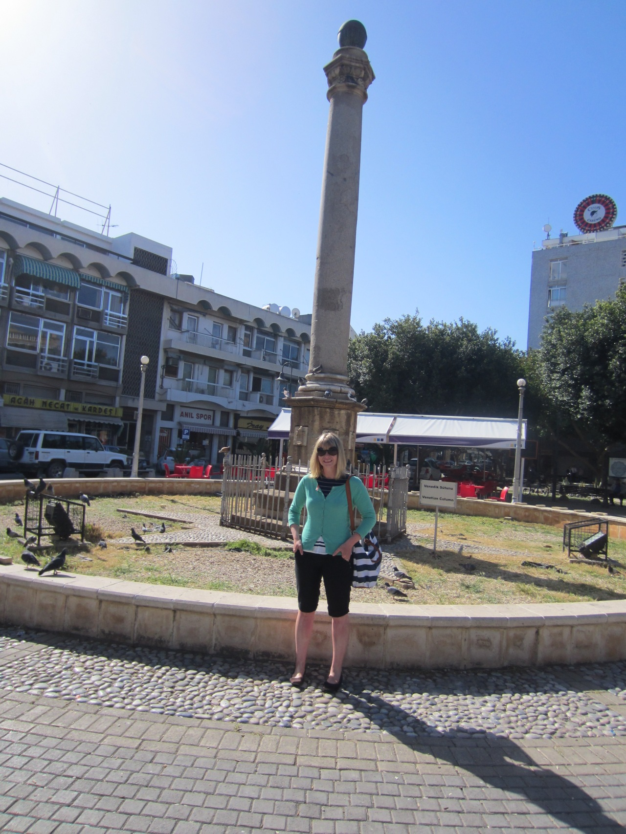 The only photo we had time to take in the Turkish part of Nicosia