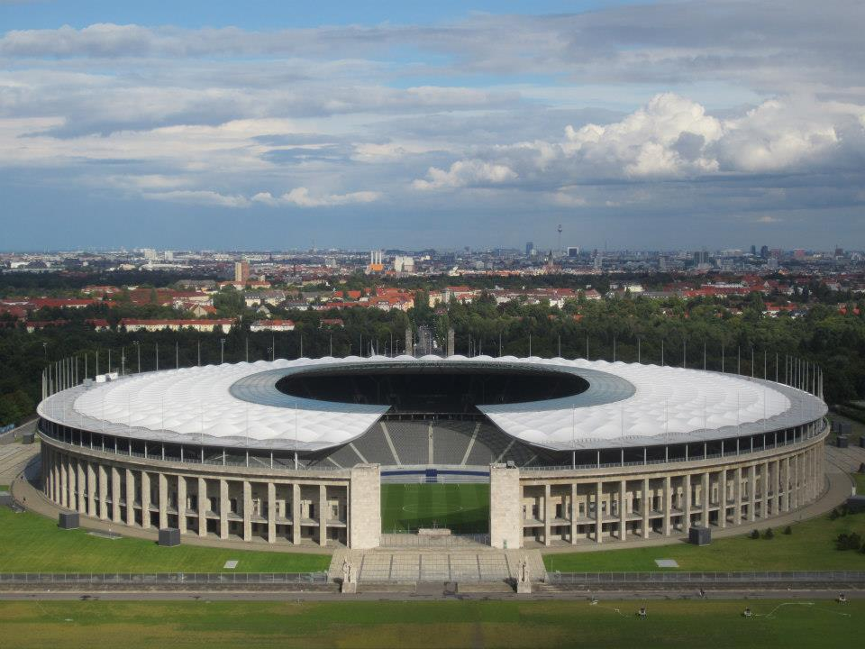 Berlin: A walk in the (Olympic)park