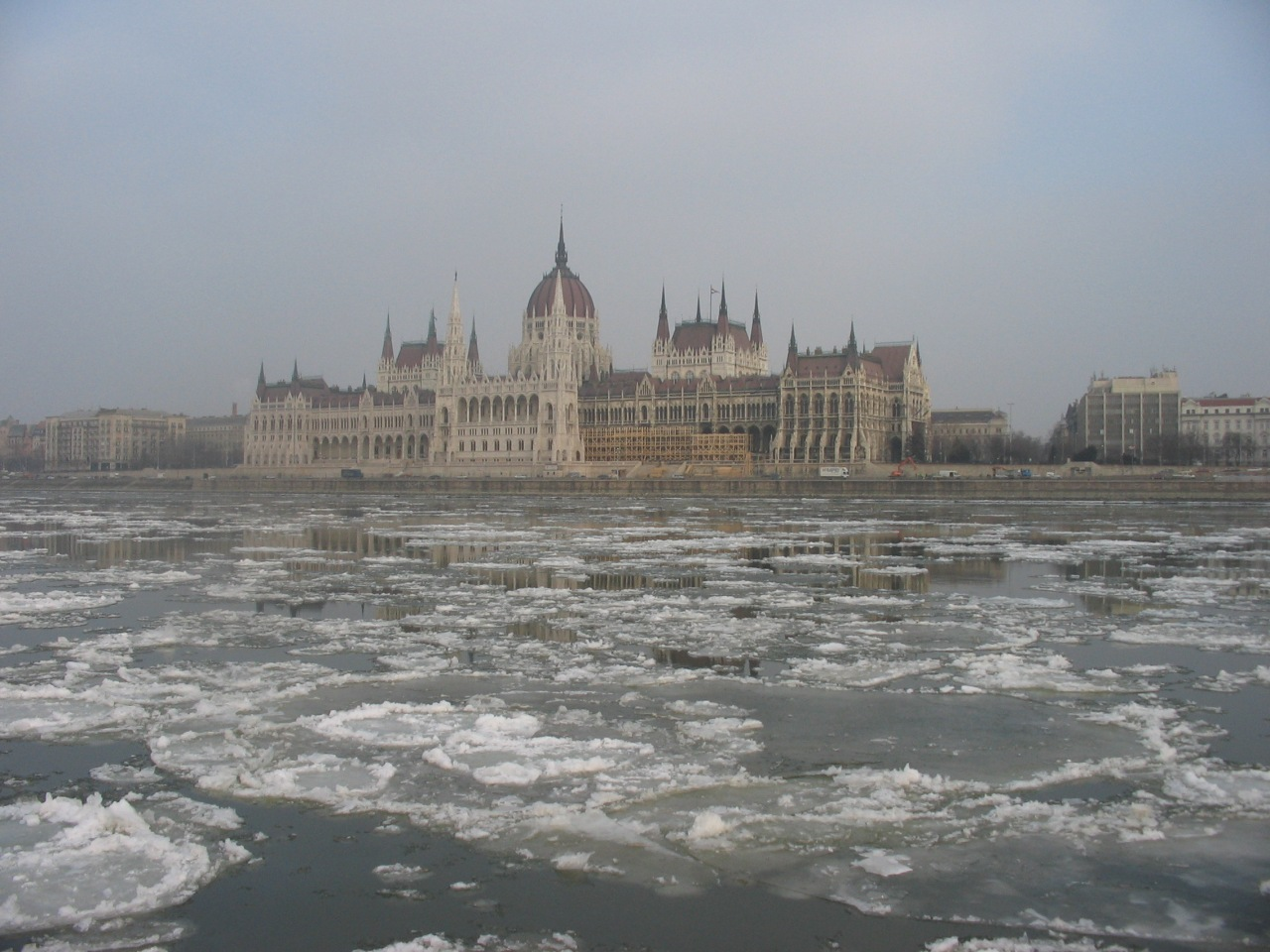Budapest in January: cold, cold, cold!