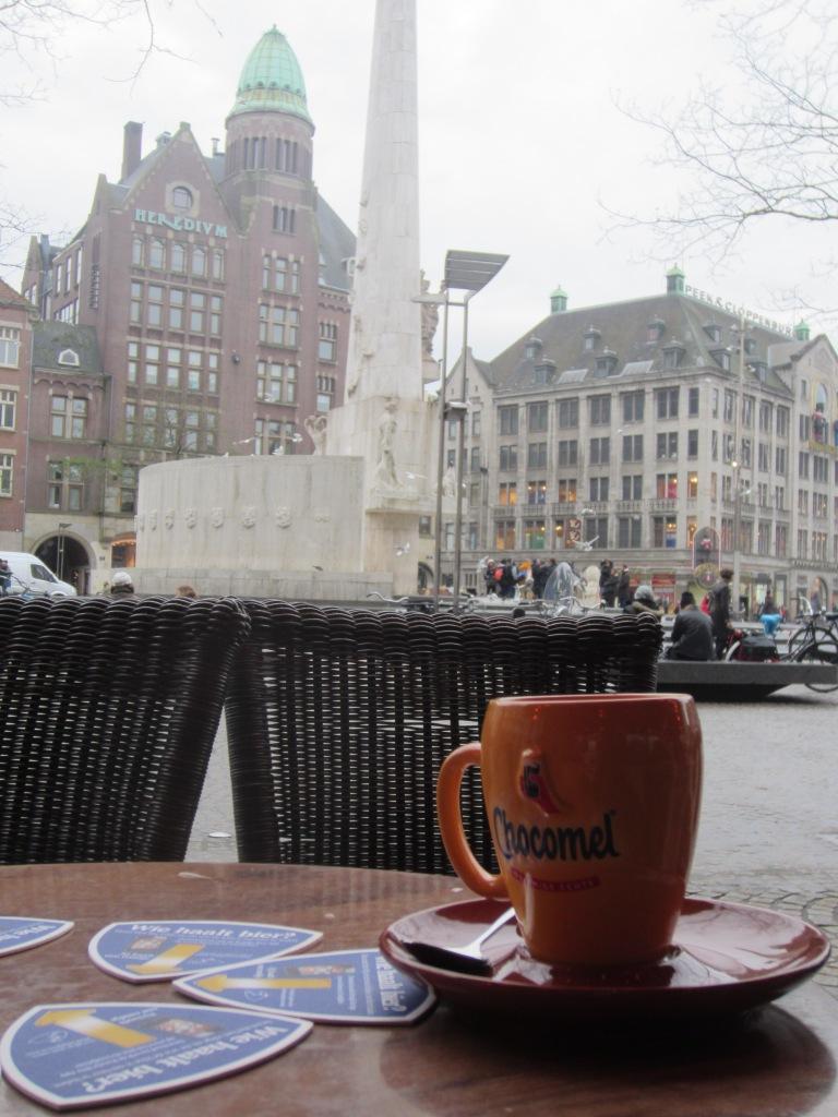 Coffee in Dam Square