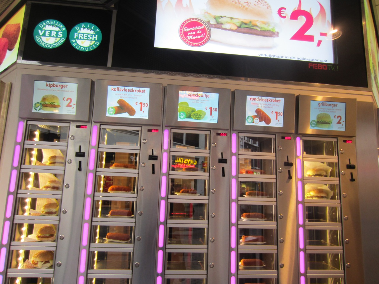 Fast food Amsterdamstyle