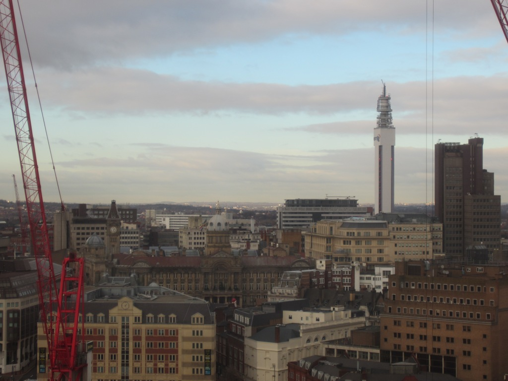 The BT Tower as seen from the window of my office