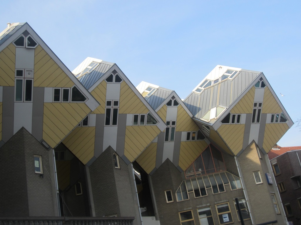 Cube Houses - could you live in one of these?