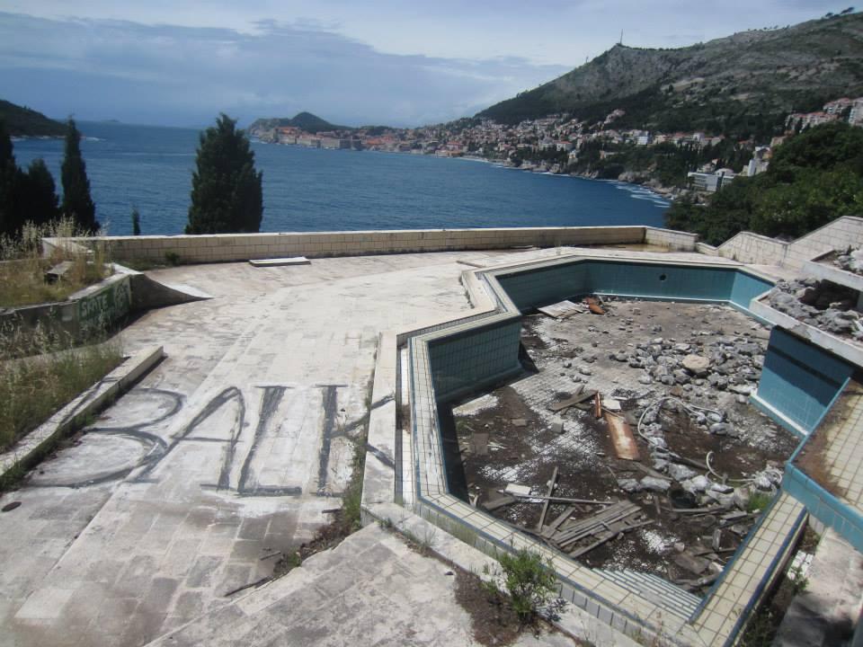 Hotel Belvedere's swimming pool