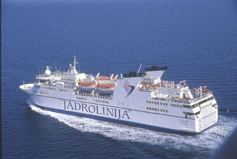 Ferry from Bari toDubrovnik