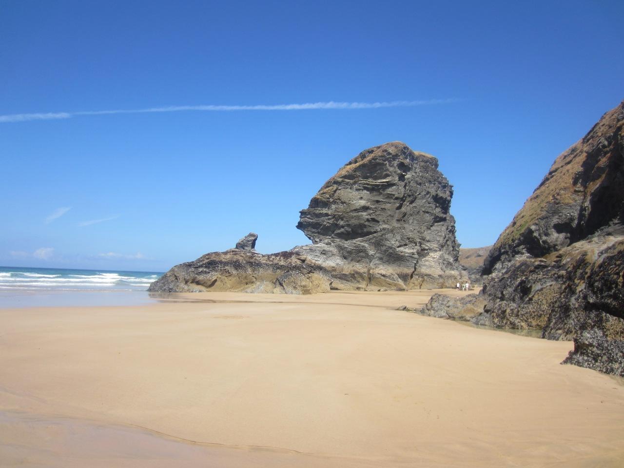 Beautiful Bedruthan: the best beach inEngland