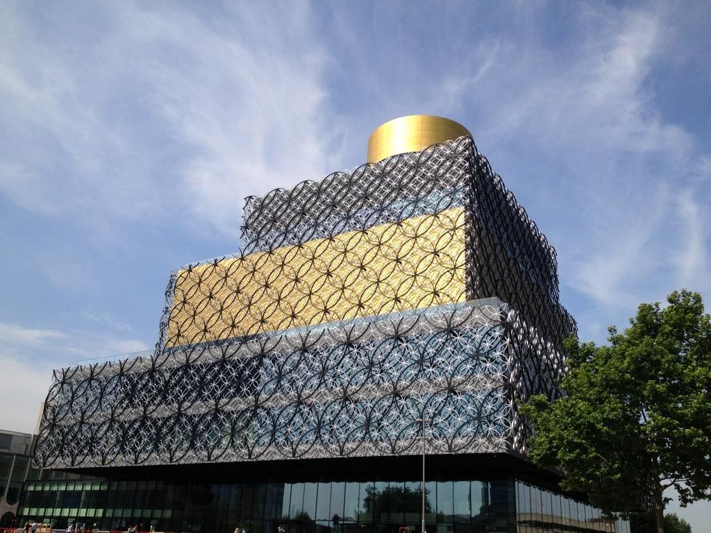 Top 5 iconic Birminghambuildings