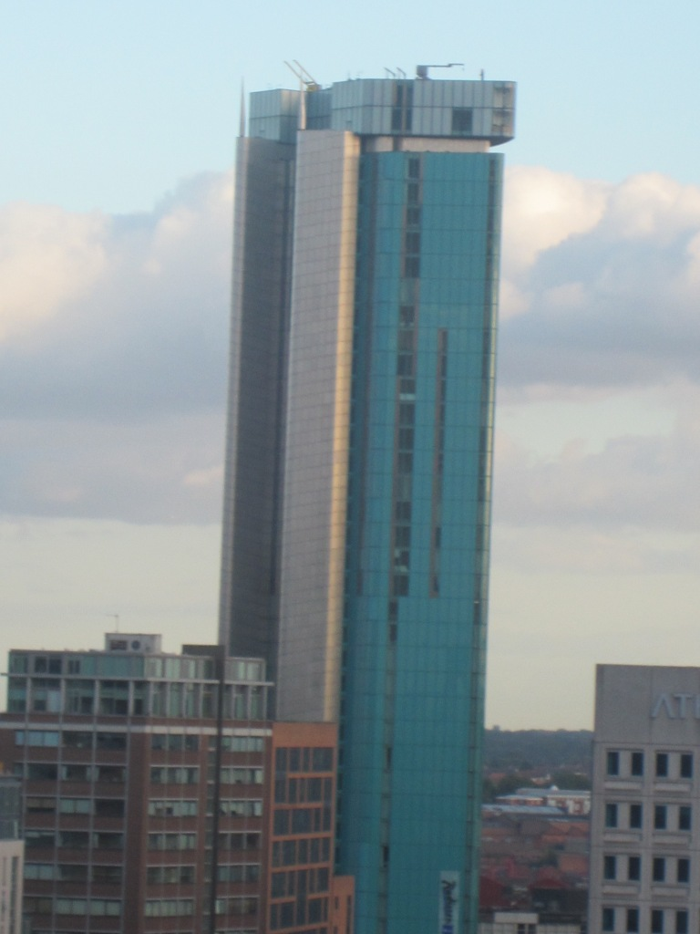 Brum's tallest building, taken from the 3rd floor terrace of the library.