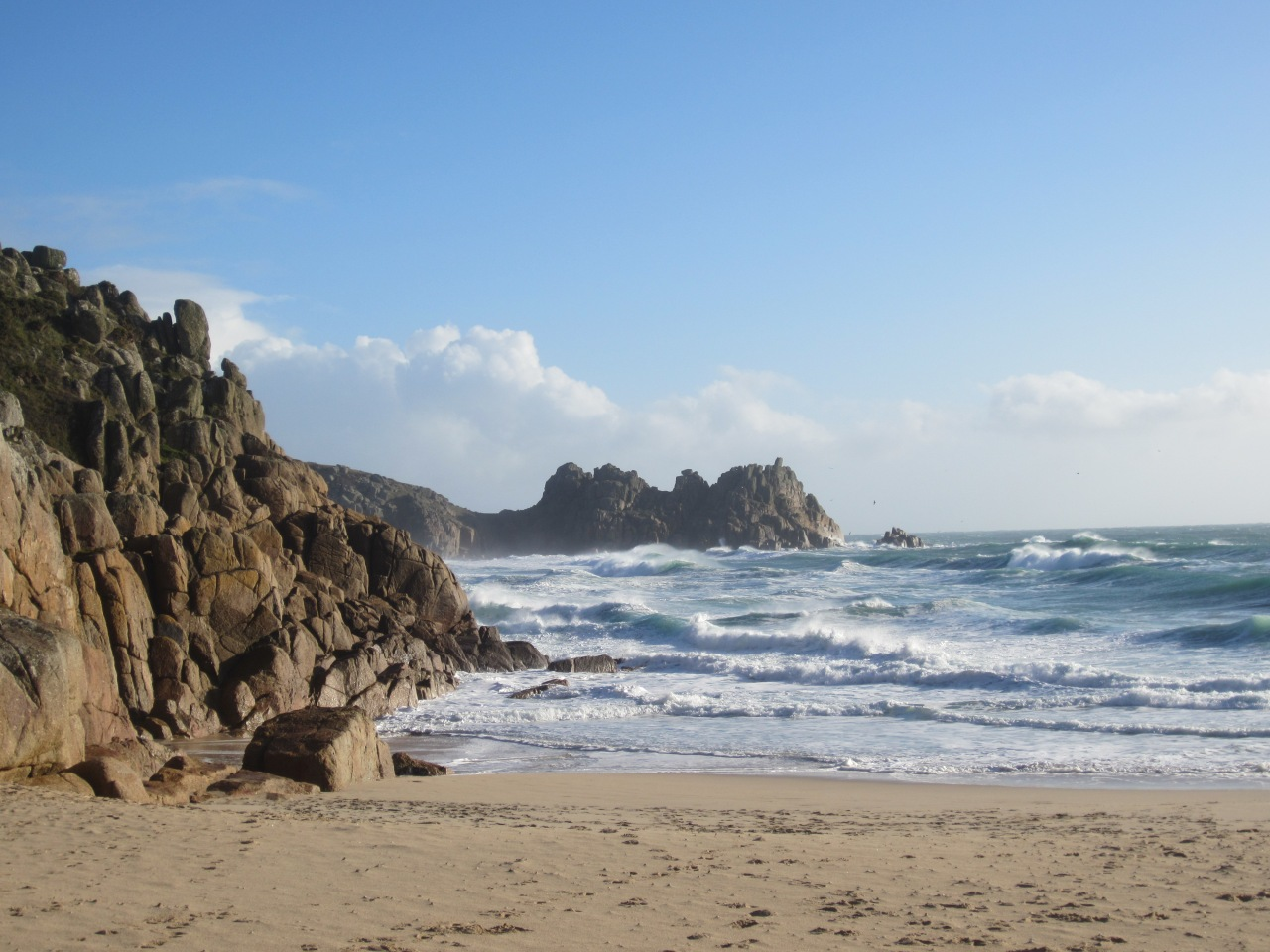 Porthcurno: the beach that helped winWWII
