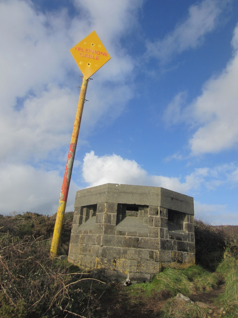 The WWII lookout hut