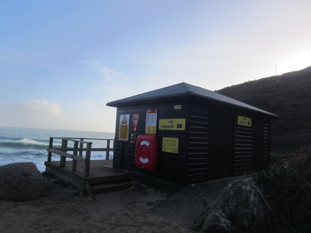 This lifeguard hut reminded me of something from Home and Away
