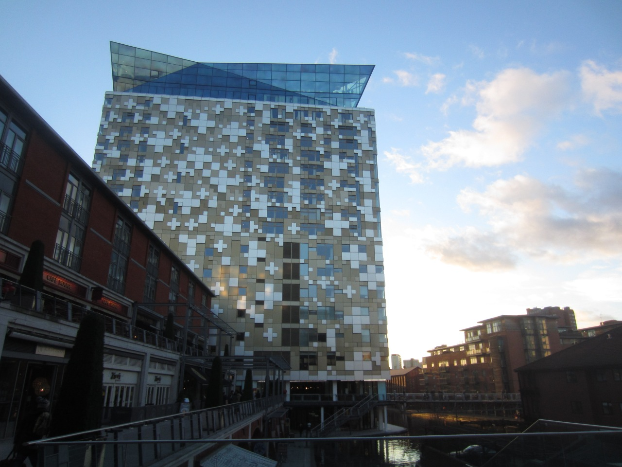 The view from The Cube,Birmingham