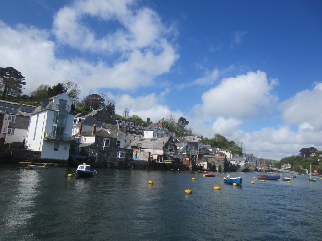 Fowey is one of the prettiest seaside towns you will find in England - it's at the mouth of the River Fowey which has a wide estuary on the English Channel.