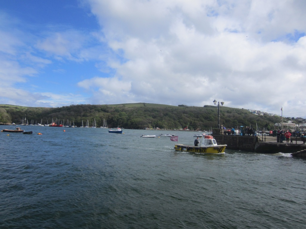 The 'water taxi' crosses the estuary from Easter to September for £2.50 one way/£4 return.