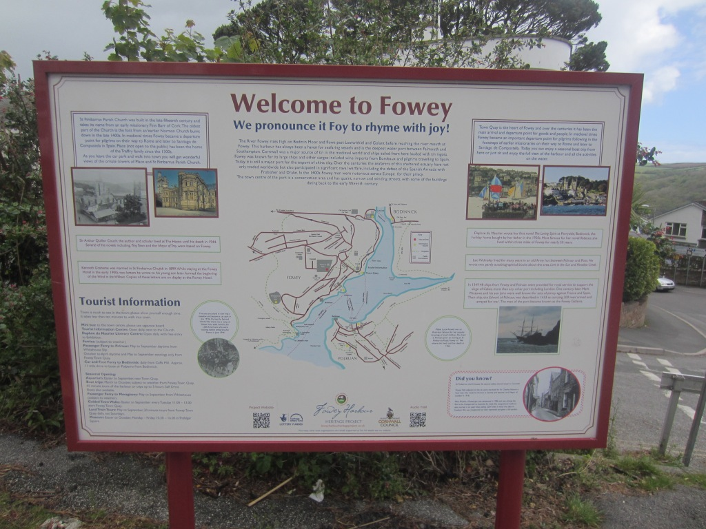 First things first, don't do what I did and pronounce Fowey in two syllables. It may seem strange for upcountry outsiders (locals call us 'Emmets'), but put your best Cornish accent on and call it Foy. As the tourist board says, it rhymes with joy.