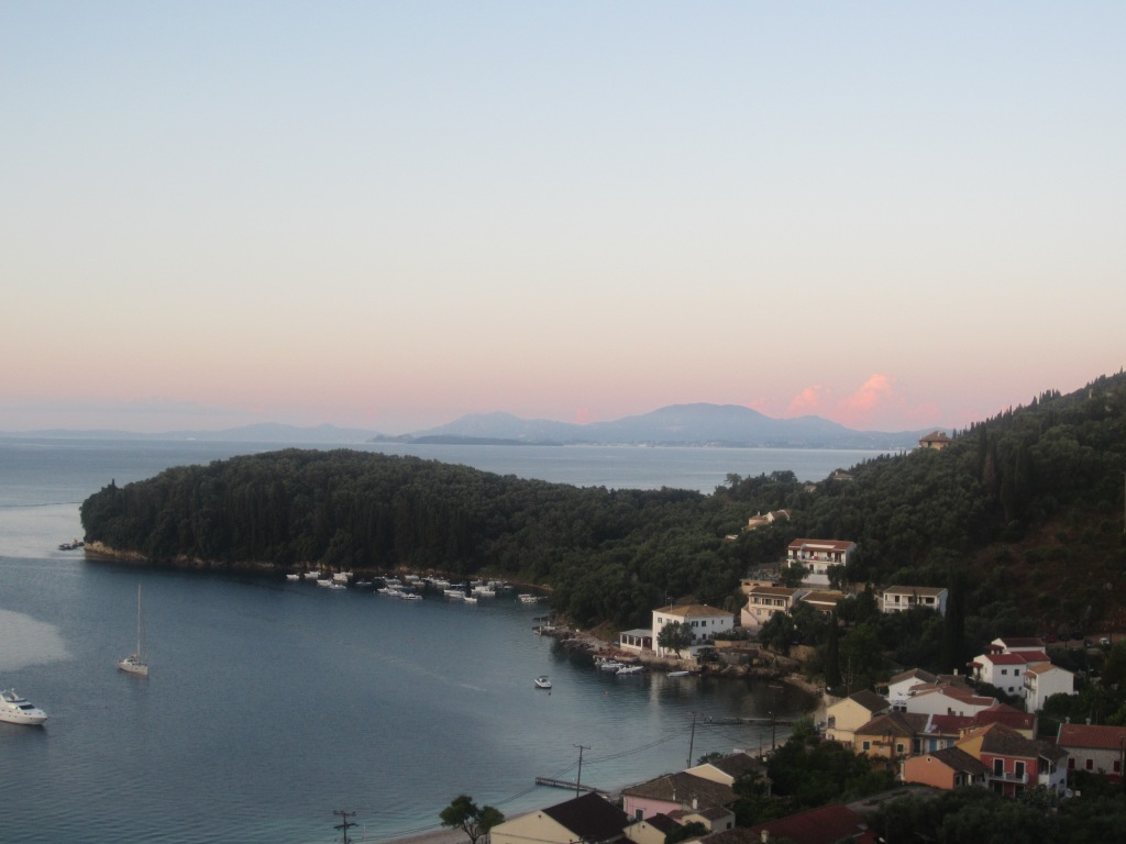 Balcony view at dawn...