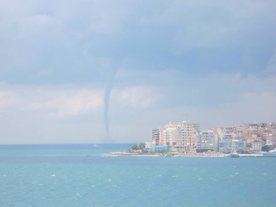 Twister over the Albanian Riviera