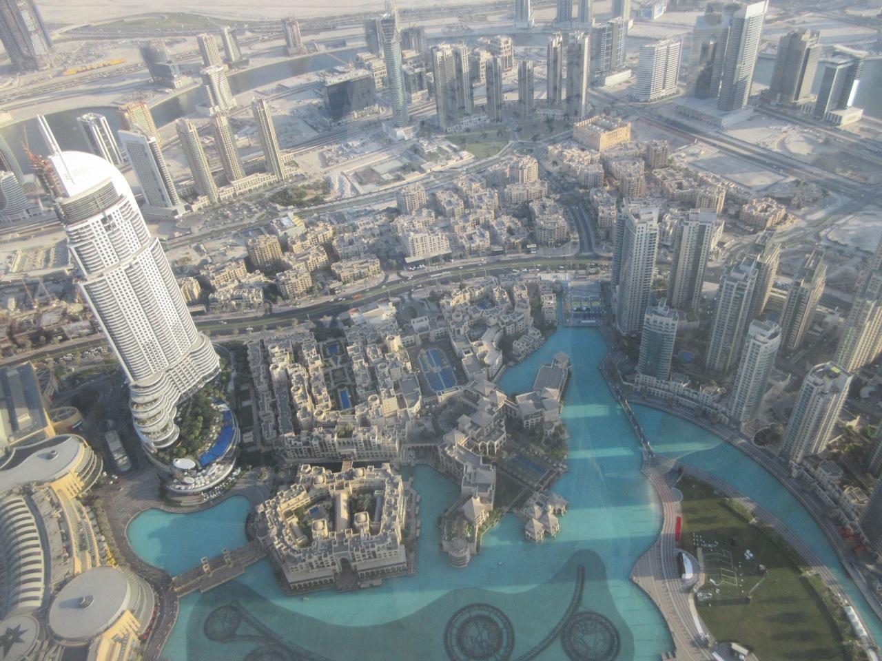 Selfie central at Dubai's BurjKhalifa