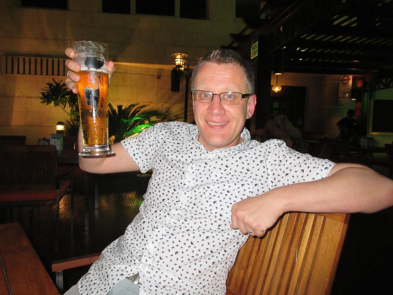 Boozing in Dubai