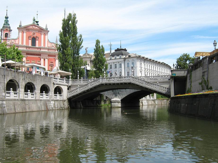 Ljubljana – pretty, green and must be seen