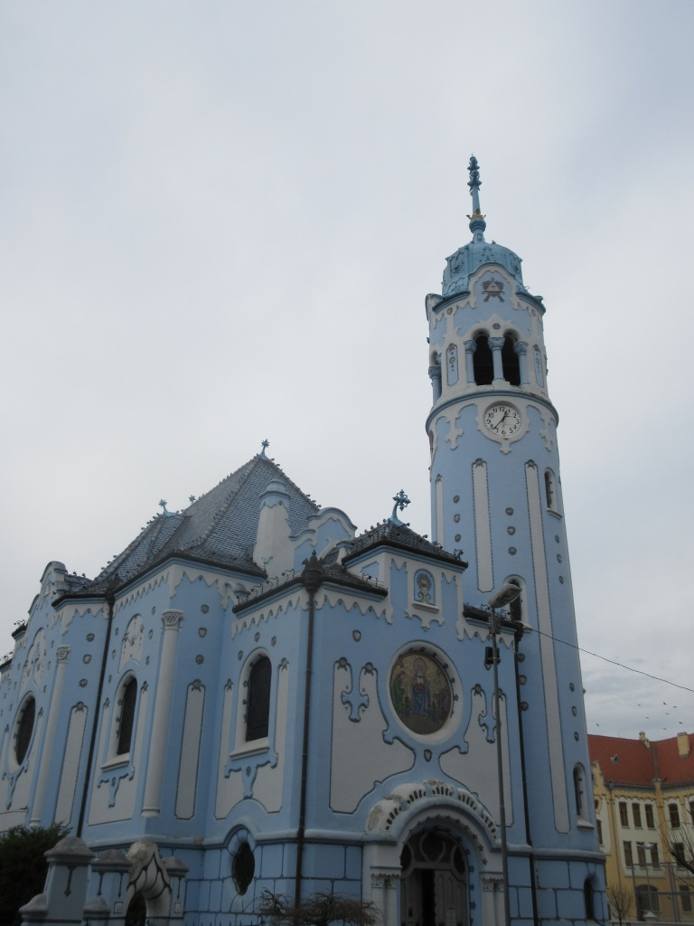The Blue or Smurf Church: January 2016