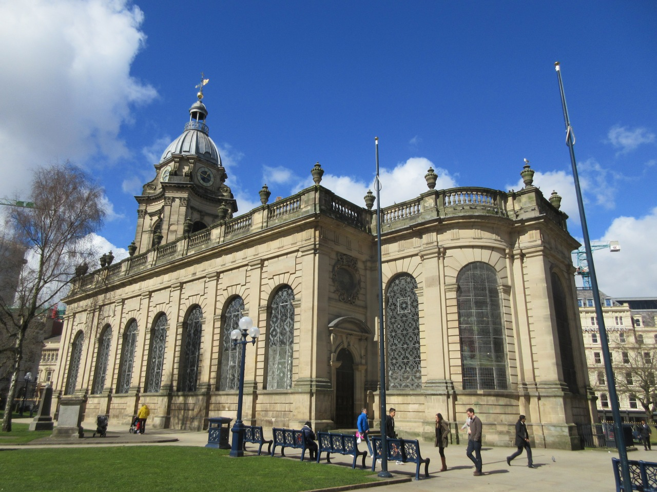Birmingham Cathedral: the church that became a cathedral