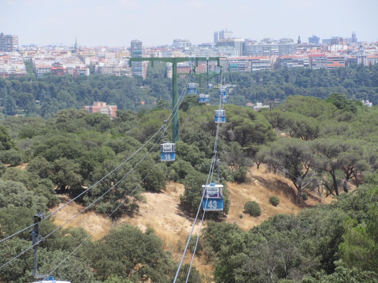 Quirky Madrid: The teleféricocable-car
