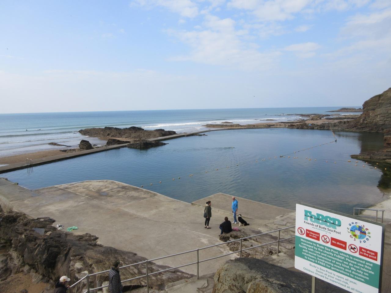 Bude Sea Pool: to infinity andbeyond